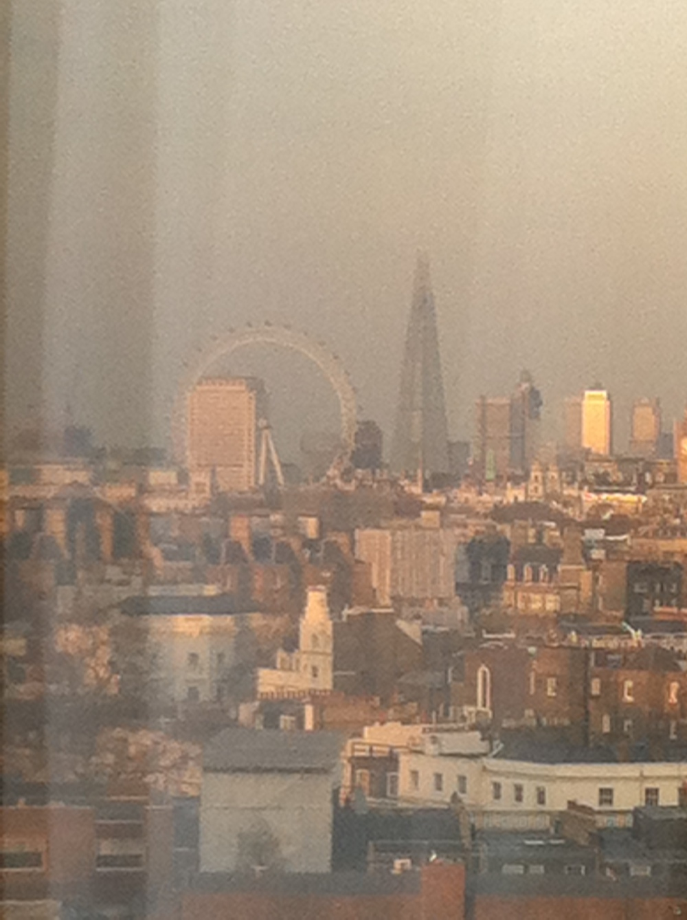 View from suite 1415, very bad quality iPhone picture but great view